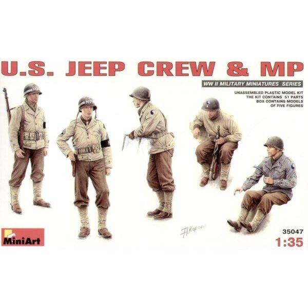 US Jeep crew