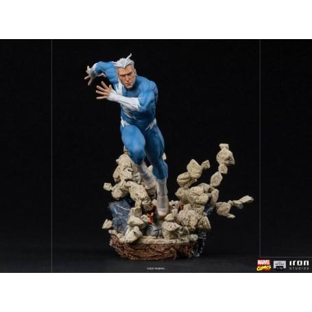 Marvel Comics statuette BDS Art Scale 1/10 Quicksilver 21 cm Iron Studios IS12766