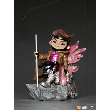 Marvel Comics figurine Mini Co. Deluxe PVC Gambit (X-Men) 17 cm Iron Studios IS12830
