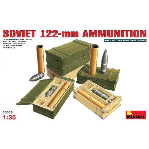 Munitions soviétiques de 122 mm