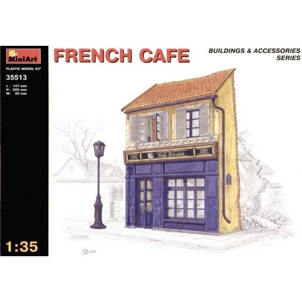 Café français en ruine