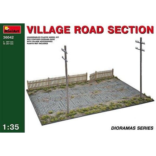Section routière de village