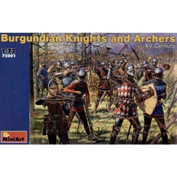 Chevaliers et archers bourguignons