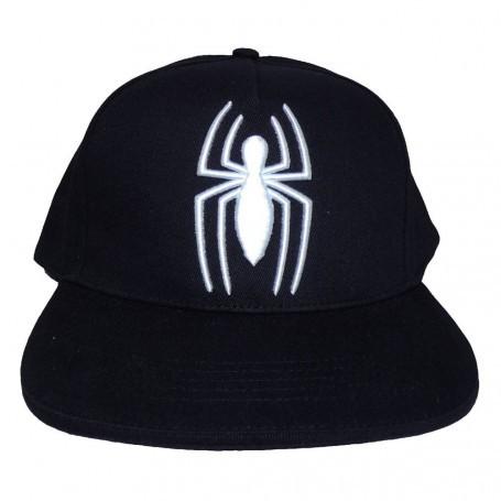 Marvel Comics Spider-Man casquette hip hop Logo Heroes Inc SGR-SPDY-008OS