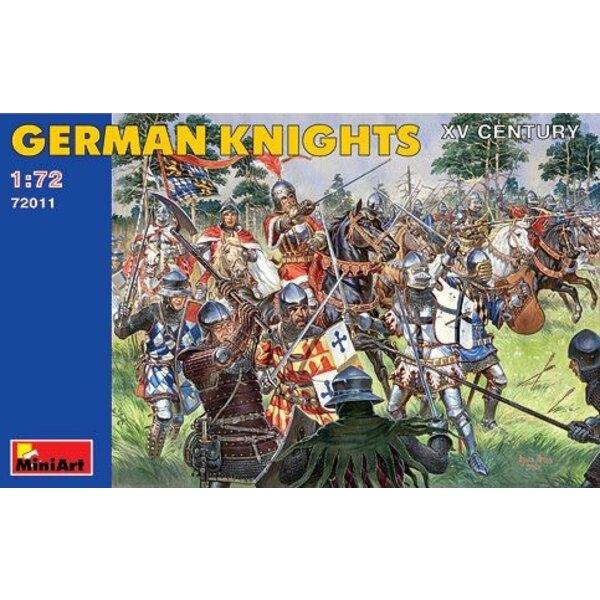 Chevaliers allemands du Xvème siècle