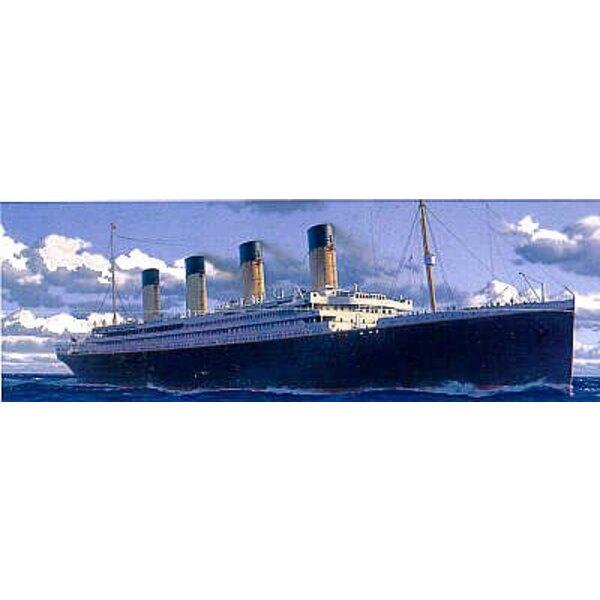 RMS Titanic version de luxe avec détail photodécoupé