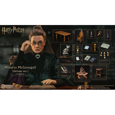 Harry Potter My Favourite Movie figurine 1/6 Minerva McGonagall Deluxe Ver. 29 cm Star Ace Toys STACSA0095