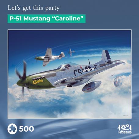 "Puzzle Let's get this party – P-51 Mustang ""Caroline"" 1001hobbies PZ500 – AVIA02"