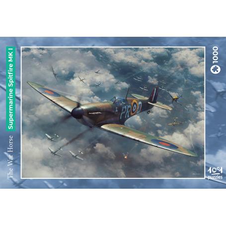 Puzzle The War Horse - Supermarine Spitfire MK I 1001hobbies PZ1000 – AVIA02