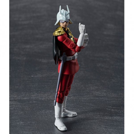 Mobile Suit Gundam figurine G.M.G. Principality of Zeon Army Soldier 06 Char Aznable 10 cm Megahouse MEHO831751