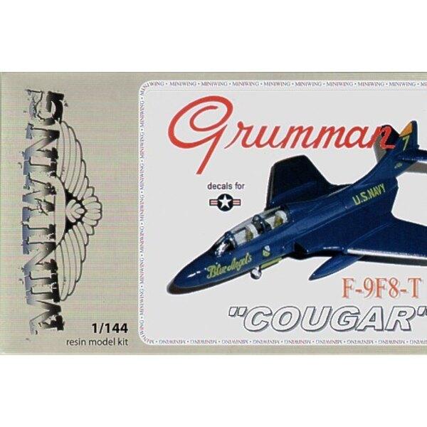 """Grumman F9F-8T COUGAR"""" (ex FE Resin) """""""