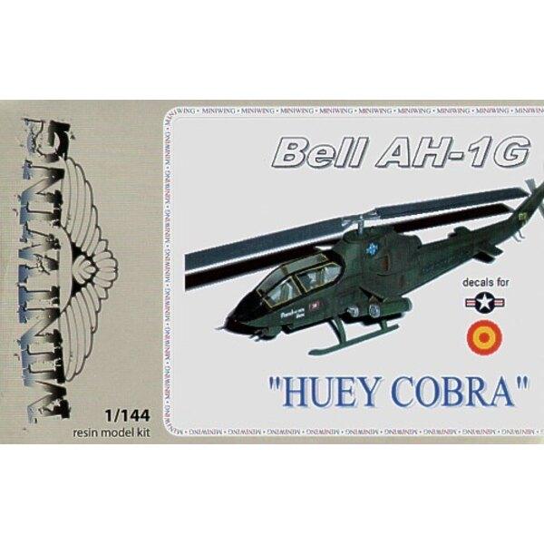 Bell AH-1G HUEY COBRA. Décalques USAF et Espagne (ex FE Resin)