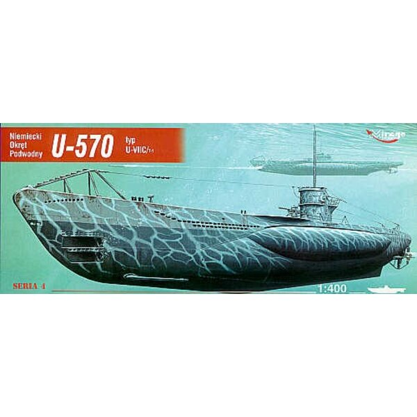 U-boot U-570 type U-VIIC (sous-marin)