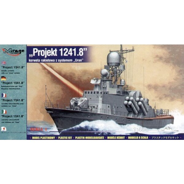 Project 1241.8 Missile Corvette with AA URAN system