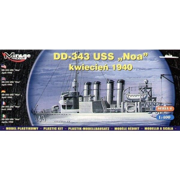 DD-343 USS Noa April 1940