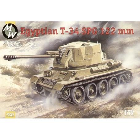 T-34 canon automoteur de 122 mm égyptien