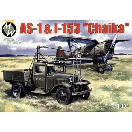 AS1 & Polikarpov I-153