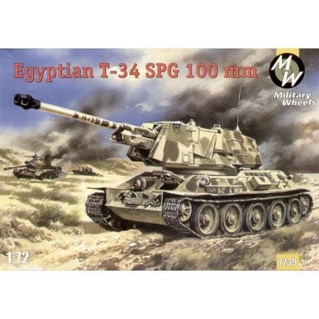 T-34 canon automoteur égyptien de 100mm