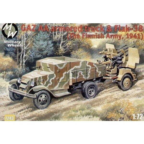 GAZ AA & Flak 38
