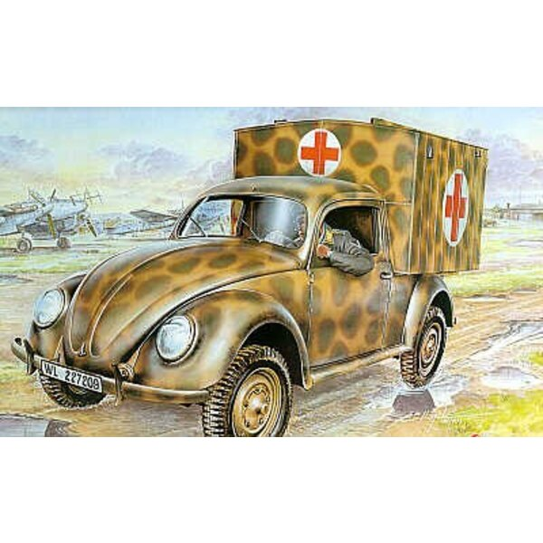 VW/Volkswagen Type 83. Decals for German Postal and Ambulance