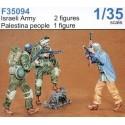 2 x armée israélienne et 1 Palestinien CMK/Czech Master Kits CMF35094