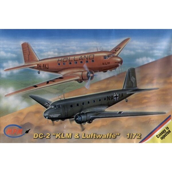 Douglas DC-2 KLM et Luftwaffe