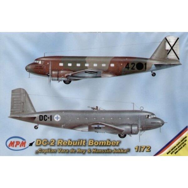 Version de bombardier de Douglas DC-2