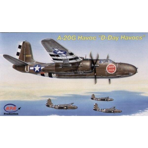 Douglas A-20G D-Havocs du jour-J