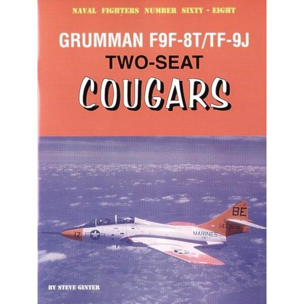Grumman two-seat Grumman F9F-8T/TF-9J Cougars