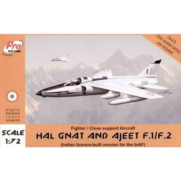 HAL Gnat ou Ajeet F.1/F.2. de l'aviation indienne HAL Gnat F.1 escadron No. 2 et HAL Ajeet F.2 Escadron no. 23