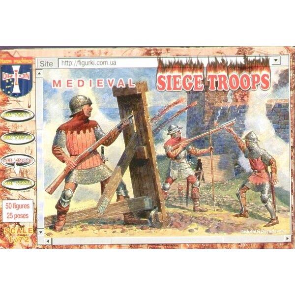 Équipage de Siège Médiéval et artilleurs