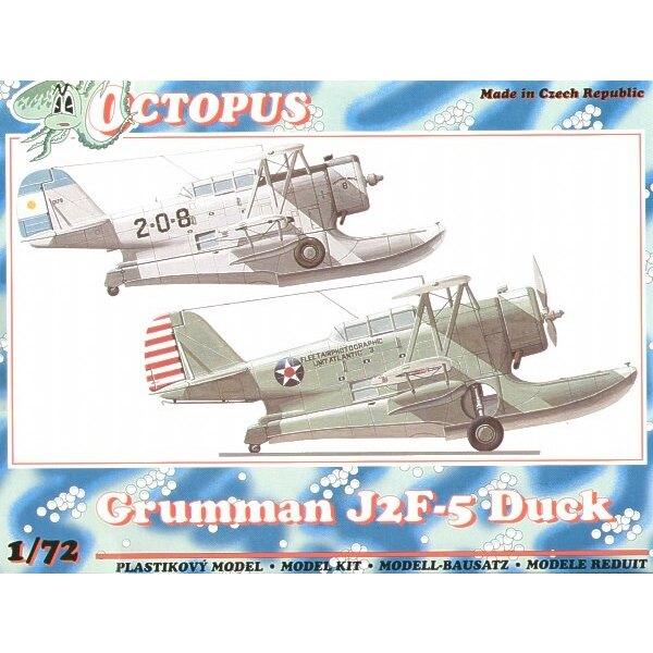 Grumman J2F-5 Duck. Décalques USA et Argentine