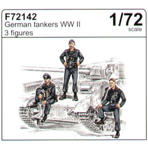 Tankistes allemands de la 2ème GM