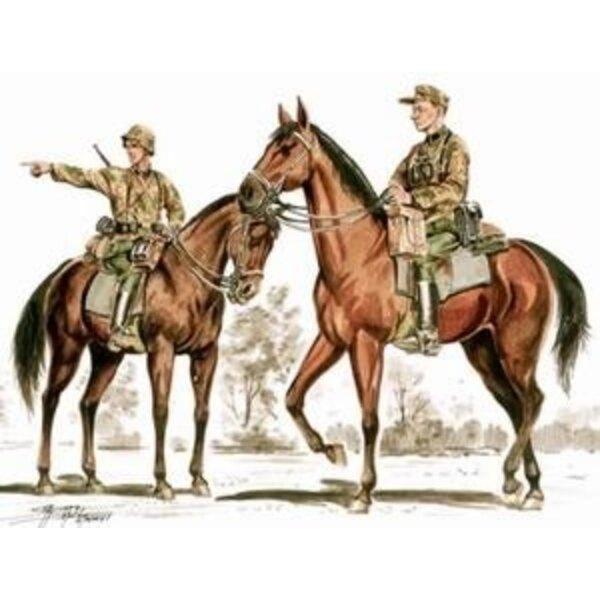 Wehrmacht mounted infantry x 2