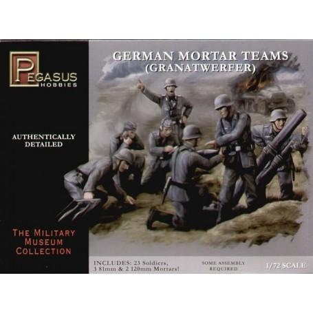 Coffret de mortier de la 2ème GM allemand