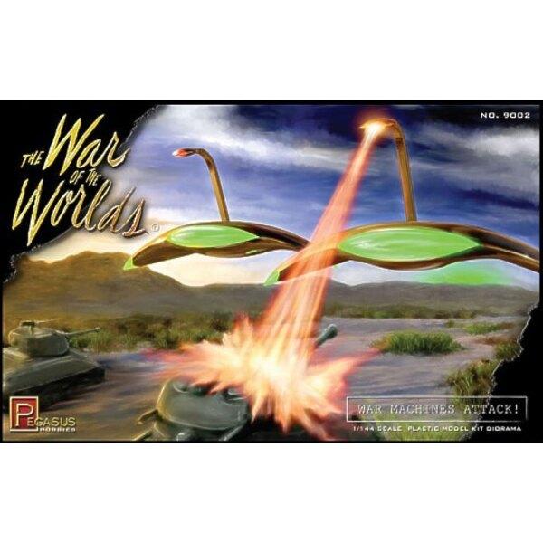 """Diorama de Machine de guerre Martienne du film de 1953 """"la guerre des mondes"""""""