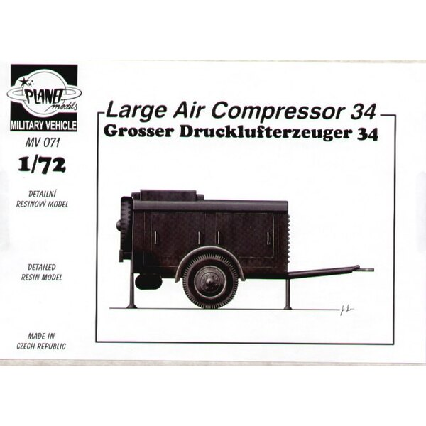 Grosser Drucklufterzeuger 34. it may sound impressive but it′s only a large air compressor ideal for dioramas