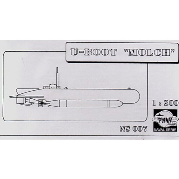 Molch U-Boat (Submarines). This is resin. (submarines)