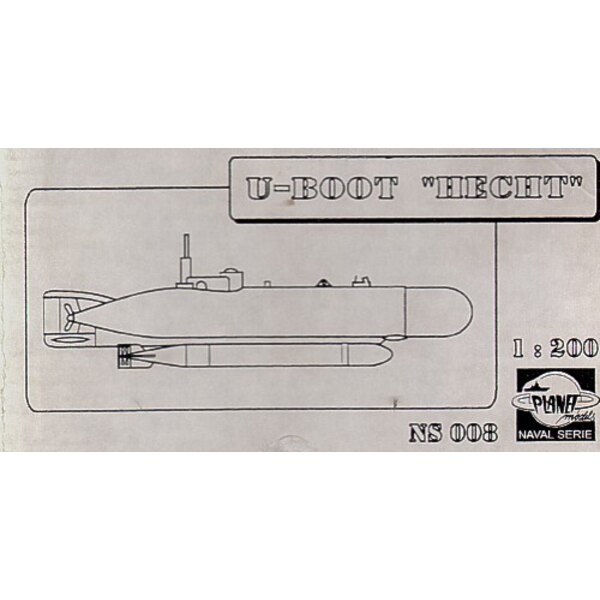 Hecht U-Boat (Submarines). This is resin. (submarines)
