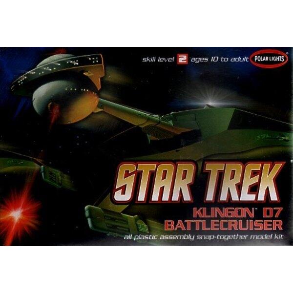 1:1000th Klingon D-7 Battlecruiser Snap-Kit - Original TV Series