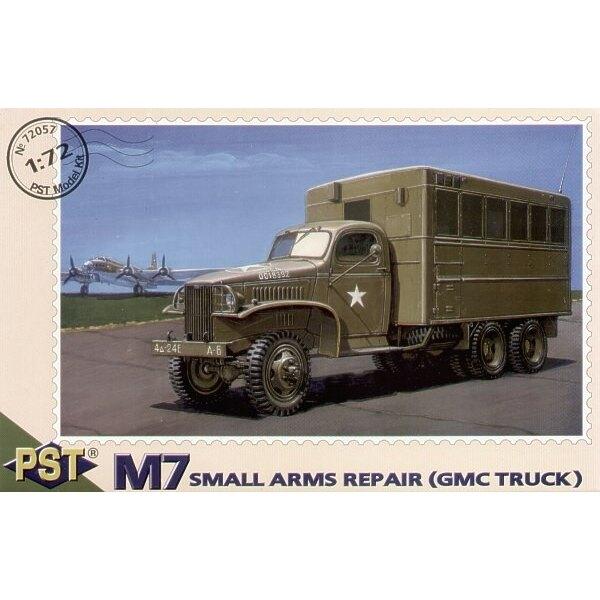 Réparation d'armes légères M7 (camion GMC)