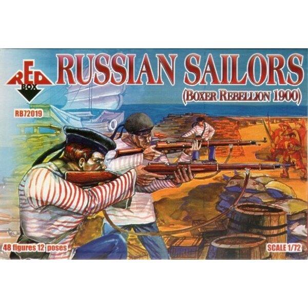 Marins russes 1900 (Révolte des Boxeurs)