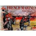 troupes de marines françaises 1900 (révolte des boxeurs)