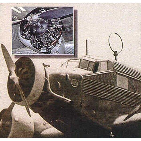 moteur de Junkers Ju 52/3M (pour maquettes Monogram et Revell)