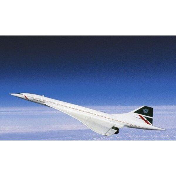 Concorde Aerospatiale. Décalques British Airways/B.A.