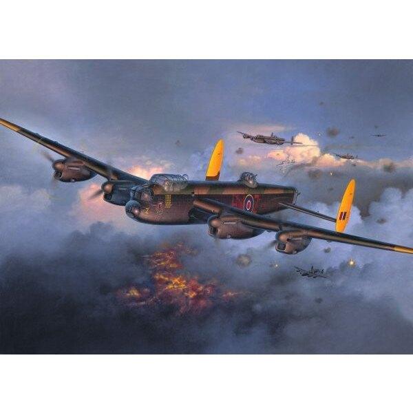 Avro Lancaster Mk.I/III (nouvel outillage. Pas Hasegawa). (La 4ème photo montre l'Avro Lancaster Revell avec les décalques dispo