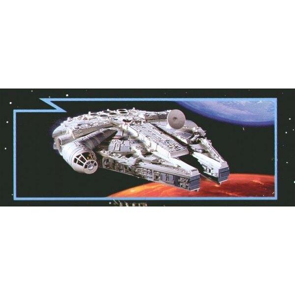 Millenium Falcon Star Wars - easykit (maquette pré-peinte à assembler sans colle)