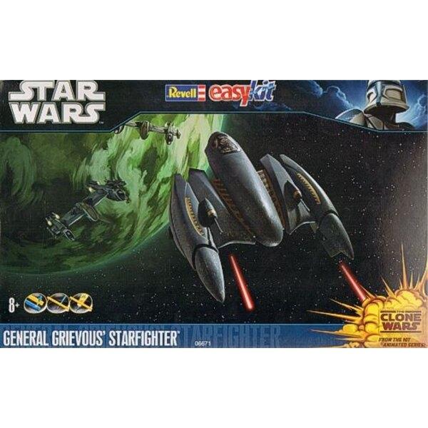 Star Wars Clone Wars: Grievous Starfighter (guerre des étoiles, guerre des clones)
