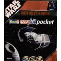 Tie Fighter de Dark Vador - maquette pré-peinte à monter sans colle (Star Wars)