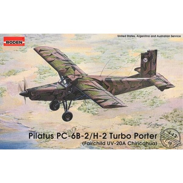 Pilatus PC-6B-2/H-2 Turbo Porter